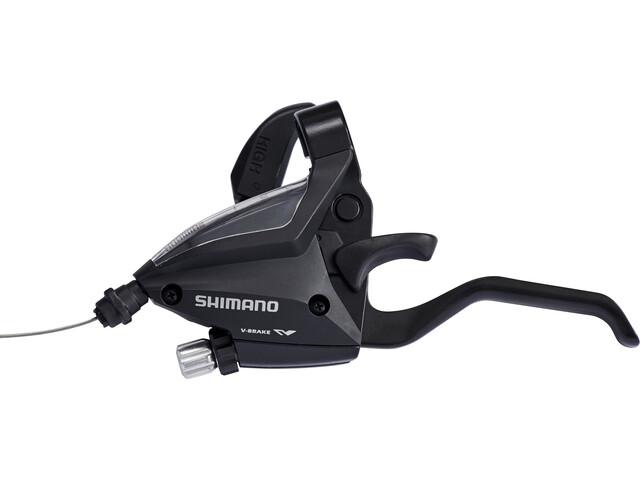 Shimano ST-EF500-2 Leviers de frein / de vitesse roue avant 3 vitesses, black